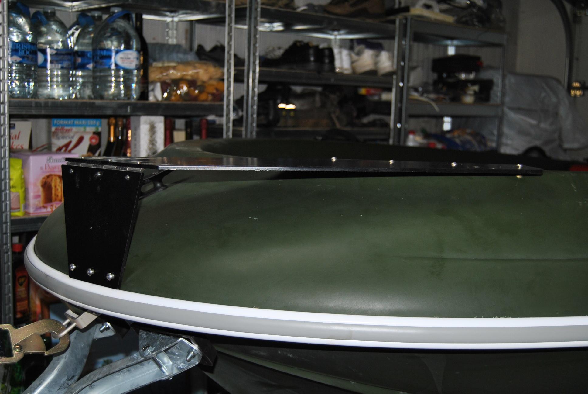 Plaque moteur avant cap 370
